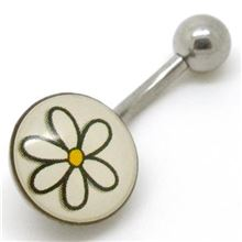 Belly Bar with picture (12mm)