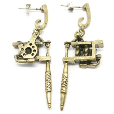 Tattoo Machine Ear-ring