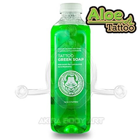 Green Soap ALOE Tattoo 1L