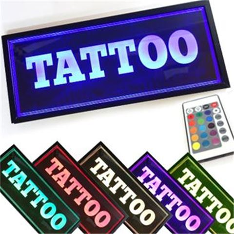 DISPLAY-LED Horizontal TATTOO
