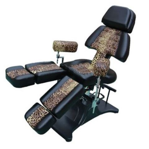 LEOPARD Tattoo Chair-Bed