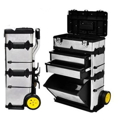 3-Part Rolling Tool-Box