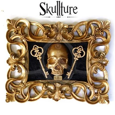 GOLDEN KEYS-SKULL