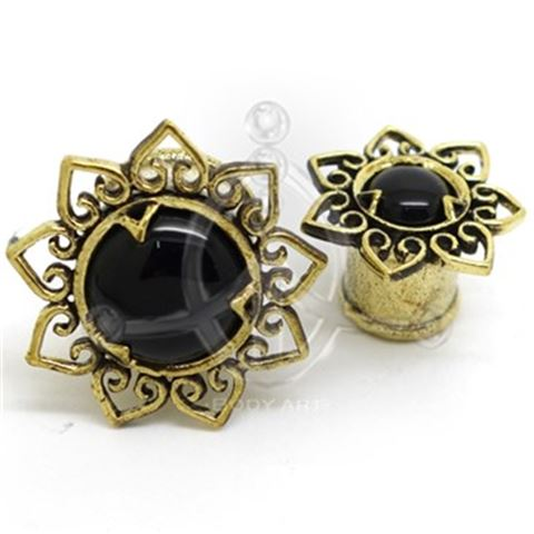 BLACK LOTUS Ethnic Ear Plug
