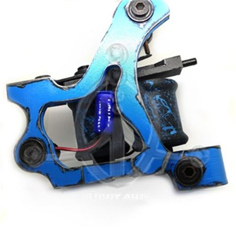 Decorative Tattoo Machine BLUE