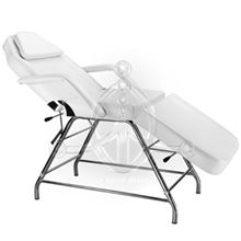 Static Armchair-Stretcher WHITE
