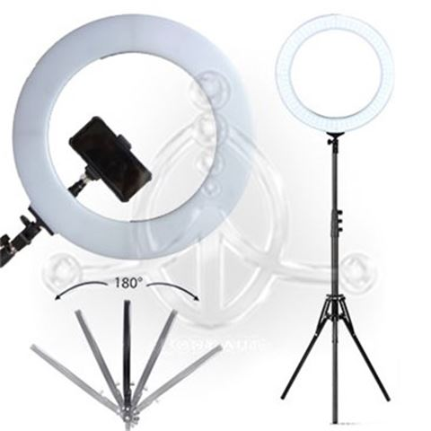 Big Round LED-Lamp