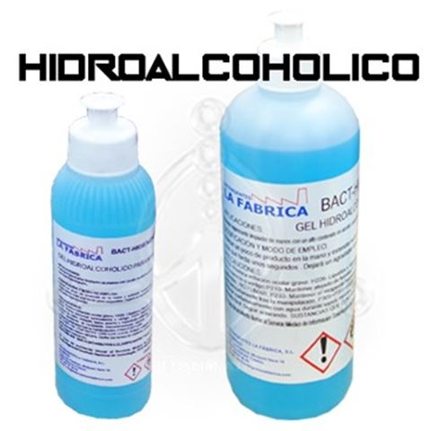 Gel hidroalcohólico 200-500ml