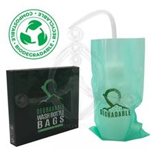Eco Degradable wash-bottle covers