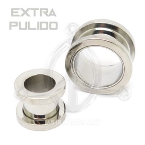 Surgical Steel threaded Flesh Tunnel