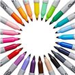 Kit 24 Marcadores de Colores SHARPIE